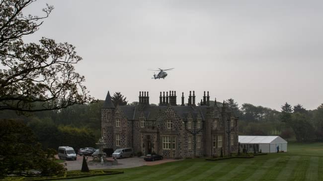 Aberdeen - Trump's historic Scottish mansion & lodge