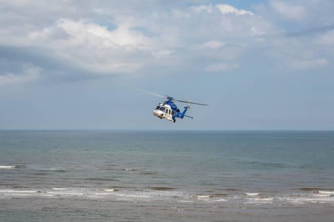 EC175 oversea - Aberdeen coast