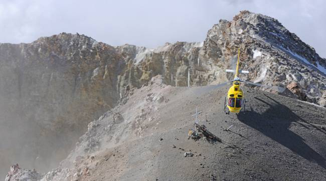 AS350 B3e - Landing on Pico de Orizaba