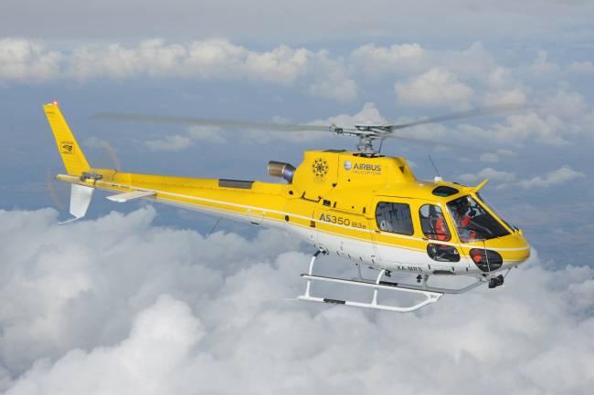 AS350 B3e - Travel to Pico de Orizaba