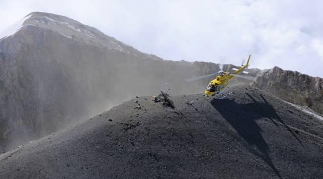 AS350 B3e - Landing on Pico de Orizaba
